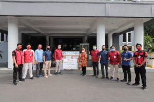 Yayasan Al-Kahfi dan Kawan Lama Foundation Beri Bantuan ke Pemkot, Bukti Warga Surabaya Peduli Penanganan Covid-19