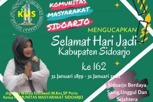 Peringati HUT Sidoarjo ke-162, KMS Siap Memberikan Sumbangsih dan Kontribusi Nyata